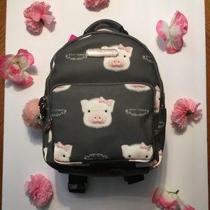 Betsey Johnson Pig Backpack